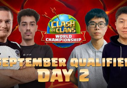 Clash Worlds September Qualifier Day 2   Clash of Clans by Clash of Clans