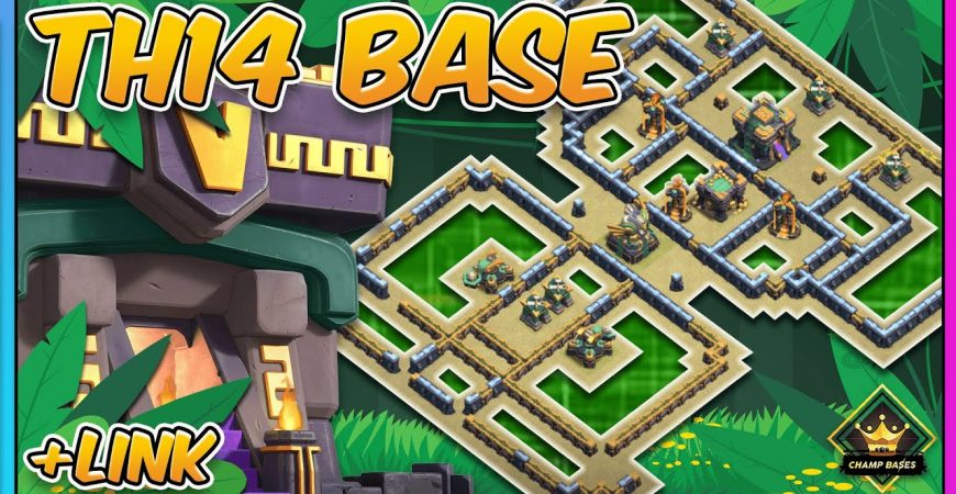 NEW TH14 Legend Base | TH14 War Base | Clash of Clans by Gaz Tommo