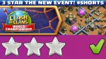 3 Star the August Qualifier Challenge Event | Clash of Clans #Shorts by Sir Moose Gaming