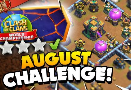 3 Star the August Qualifier Challenge (Clash of Clans) by Judo Sloth Gaming