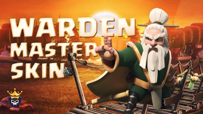 Warden Master Skin Revealed – October Hero Skin