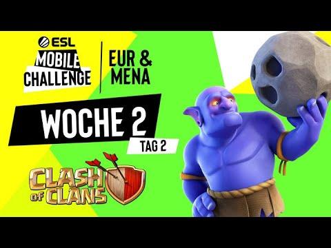Badzinger vs Entropy Gaming – Europameisterschaft / ESL Mobile EU/MENA by Noobs iMTV – Clash of Clans