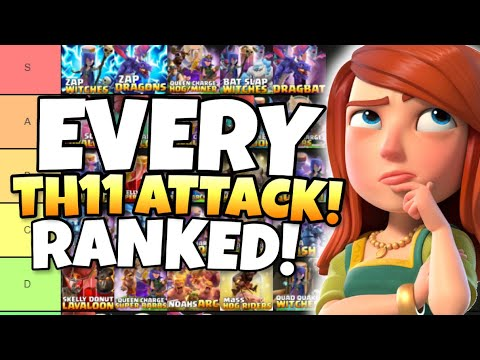 EVERY TH11 Attack Strategy RANKED to FIND the BEST TH11 Attack Strategies in Clash of Clans by Clash with Eric – OneHive