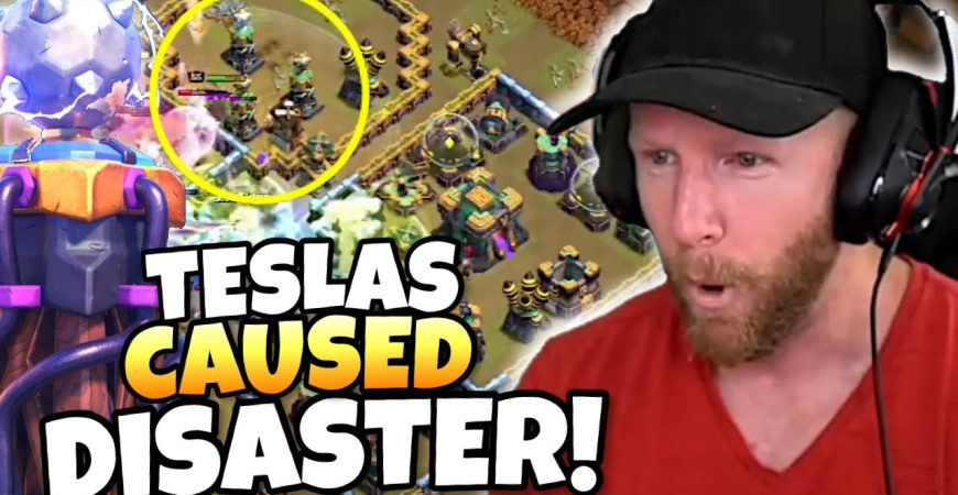 200 IQ TESLA FARM wreaks HAVOC on ATTACK and WAR! Clash of Clans eSports by Clash with Eric – OneHive