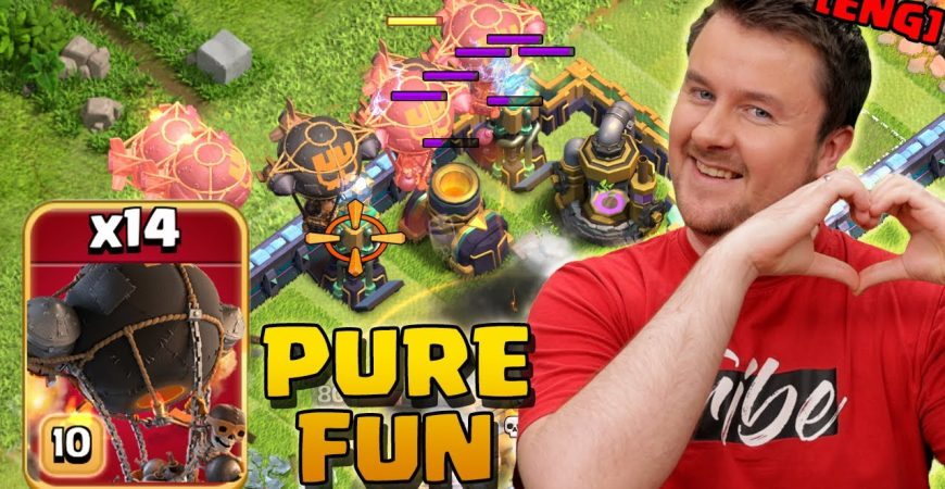 My NEW Favorite Strategy in Clash of Clans by iTzu [ENG] – Clash of Clans