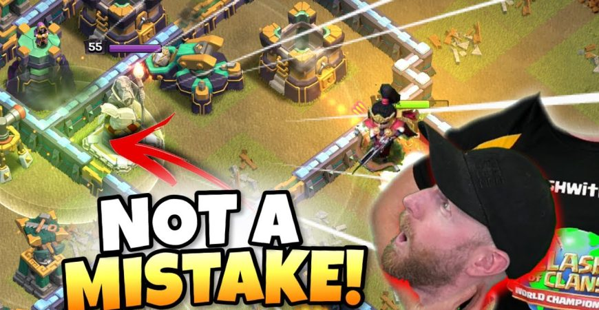 WEIRD 200 IQ Jump turns out to be GENIUS! You'll lose your HEAD! Clash of Clans eSports by Clash with Eric – OneHive