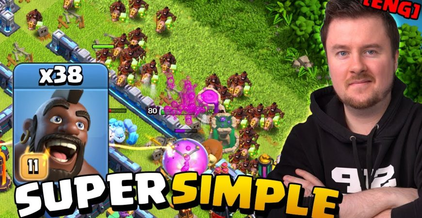 Mass Hogs – Simple Strategy for EVERYONE by iTzu [ENG] – Clash of Clans