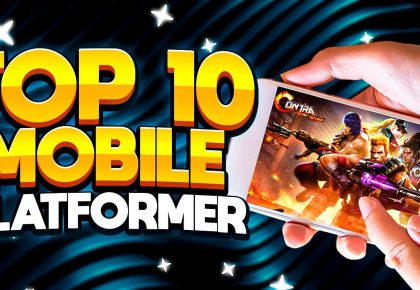 Top 10 Best Mobile Platformer Games iOS and Android by ECHO Gaming
