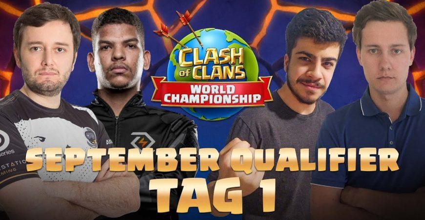 WM QUALIFIER September Tag 1 | Clash of Clans deutsch by Noobs iMTV – Clash of Clans