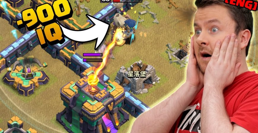 Warden ignores the Town Hall and THIS happens – insane ending! by iTzu [ENG] – Clash of Clans