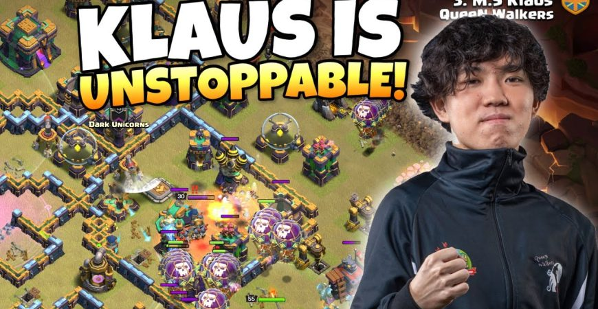 Can KLAUS save the QUEEN WALKERS from Elimination?! Clash of Clan eSports by Clash with Eric – OneHive