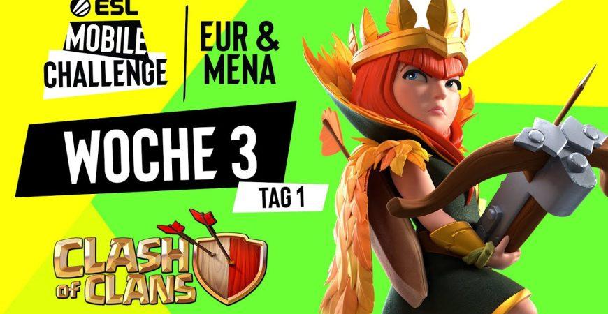 Badzinger vs Entropy – Die BESTEN 8 Teams in Europa   ESL Mobile EU/MENA by Noobs iMTV – Clash of Clans