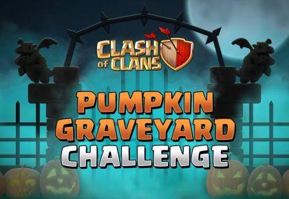 Pumpkin Graveyard Challenge | Clash of Clans by Clash of Clans