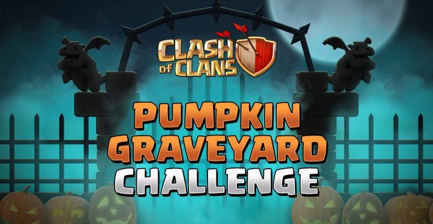 Pumpkin Graveyard Challenge   Clash of Clans by Clash of Clans