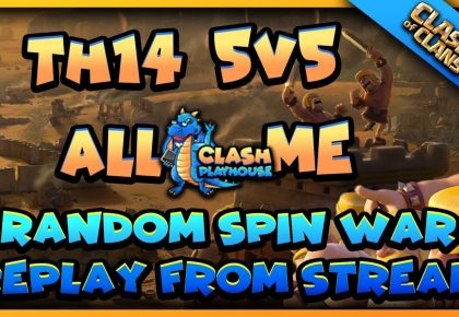TH14 5v5 all me war | Clash of Clans by Clash Playhouse