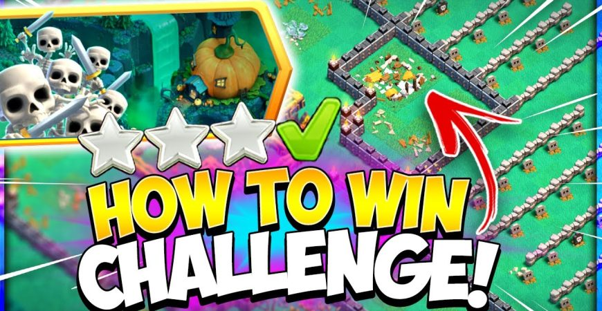 How To 3 Star Pumpkin Graveyard Challenge (Clash of Clans) by Kenny Jo