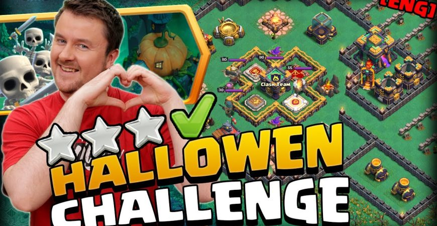 3 Stars made simple – Pumpkin Graveyard Challenge by iTzu [ENG] – Clash of Clans