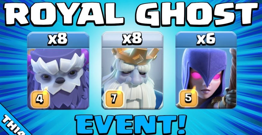 ROYAL GHOST ATTACK! NEW TH14 Attack Strategy | Royal Ghost Event | Clash of Clans by Sir Moose Gaming