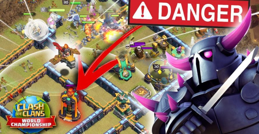 200 IQ Dragon Rider SAVED this PEKKA Smash from FAILURE! Clash of Clans eSports by Clash with Eric – OneHive