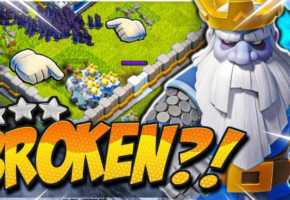 This Royal Ghost Attack is BROKEN for TH12! (Clash of Clans) by CorruptYT