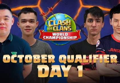Clash Worlds October Qualifier Day 1 | Clash of Clans by Clash of Clans