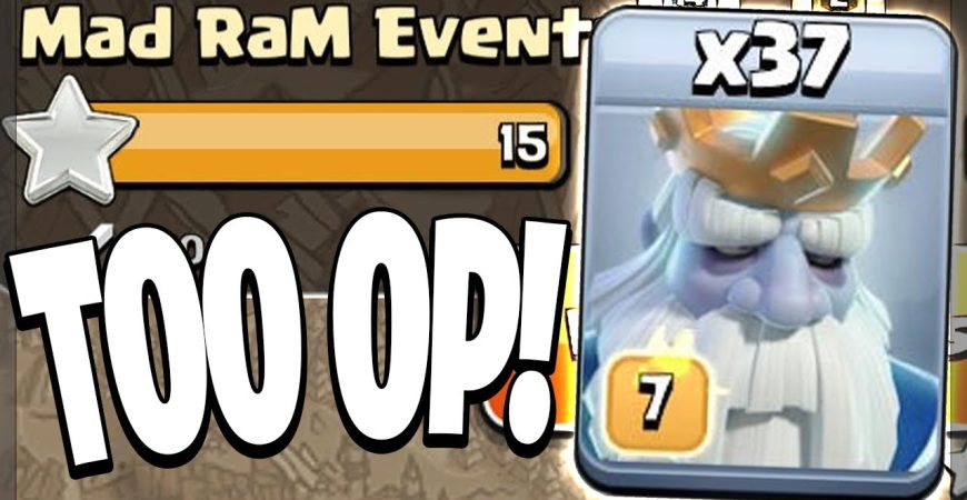 ROYAL GHOSTS HAVE OFFICIALLY BROKEN CLASH OF CLANS! by Clash Bashing!!