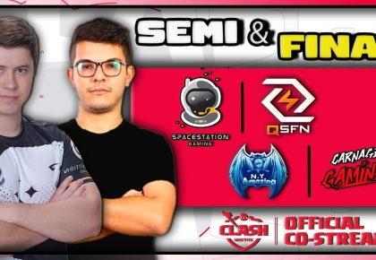 SpaceStation vs QSFN | Semifinal in Clash MSTRS | Qualifier 3 by Suzie Gaming