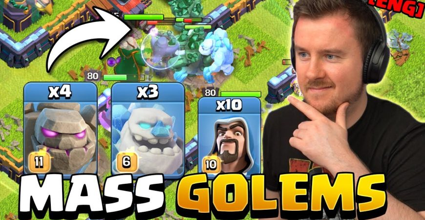 Can 64.000 Hit Points Tank Town Hall 14 ?! by iTzu [ENG] – Clash of Clans