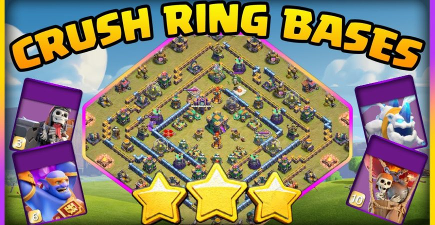 Easily 3 Star These Popular TH14 Ring Bases in Legends League – Clash of Clans TH14 by Big Vale