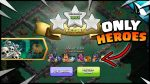 ONLY HEROES for the Pumpkin Graveyard Challenge! by CarbonFin Gaming