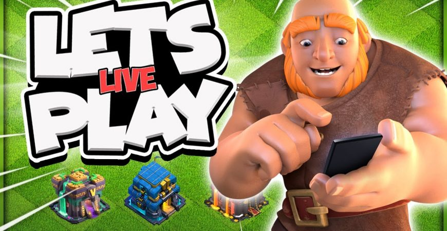 Clan War League Attacks Live! LAST STREAM for 3 Weeks in Clash of Clans by Kenny Jo